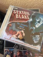 BBC Audio SEXTON BLAKE The Vampire Moon Full-Cast BBC Dramatisations 2 x CD Set