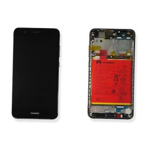 DISPLAY LCD VETRO TOUCH SCREEN NERO COMPLETO ORIGINALE HUAWEI P10 LITE WAS-LX1A