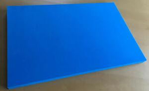 (55,00 EUR/m²) Hartschaumstoff, Werkzeugeinlage Shadow Board blau