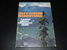 OUTDOOR SURVIVAL AVALON HILL 1972 NICE CONDITION