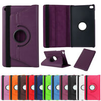 """For Huawei Mediapad T1 T2 M2 7"""" 8"""" 10"""" Tablet 360 Rotate PU Leather Case Cover"""