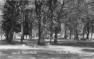 H48/ Grants Pass Oregon RPPC Postcard c1940s Grants Pass Park Gazebo