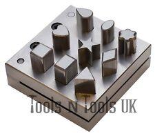 DISCO in acciaio taglierina 9 assortiti Forme Gioielli Making Designs modello varie forme