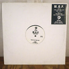 """M.O.P. featuring Jay-Z Put it in the Air Promo 12"""" Single Roc-a-Fella hip hop M-"""