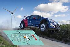 Calcas Peugeot 208 Rally Portugal 2017 1:32 1:43 1:24 1:18 64 87 Sainz decals