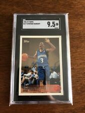 1996 Topps Basketball Stephon Marbury ROOKIE RC #177 SGC 9.5 Mint