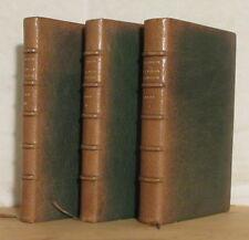 SCARRON LE ROMAN COMIQUE 3 vols 1880 JOUAUST MAROQUIN CANAPE-BELZ FLAMENG vergé