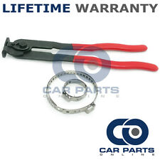 CAR ATV FITS 99% OF VEHICLES CV BOOT CLAMPS PAIR X 1 & EAR PLIERS