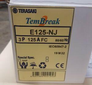 Terasaki E125-NJ 125A, 3P, Circuit breaker - Brand New (Free Shipping)