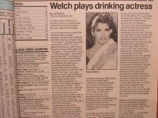 May 23, 1993 Minneapolis Star Tribune TV Week Magazine(RAQUEL WELCH/JACK SCALIA)