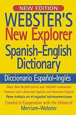 Websters New Explorer Spanish-English Dictionary