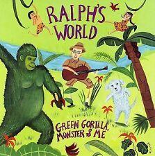 DISNEY CD - RALPH'S WORLD - GREEN GORILLA, MONSTER & ME **LIKE NEW**