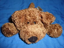 "Animal Alley Collectibles Plush beanbag Brown Dog 3""x6"""