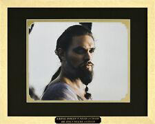 """Game of Thrones"". Jason Momoa as Khal Drogo. Framed Movie Poster"