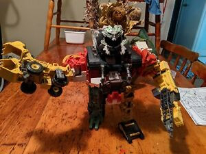 Transformers Devastator Complete Movie Revenge of the fallen 99% complete