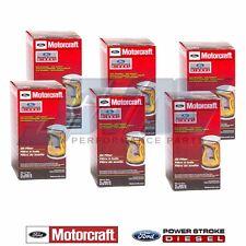11-17 Ford 6.7 6.7L Powerstroke Diesel Six OEM Motorcraft Engine Oil Filters (6)