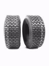 (2) 15X6.00-6 15X600-6 15X6.00X6 4PR  Lawn Mower Turf Tires Chevron Tread