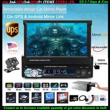 """7""""1DIN GPS Touch Screen Car Radio+Camera+8gTF FM MP5 AUX Bluetooth USB Stereo EQ"""
