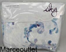 Sky Vienne King Duvet Cover & Shams Set Blue - Lavender