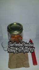 Honey Jar Spell Kit Love Me Stay with Me Come To Me Sweeten  Wicca Pagan Voodoo