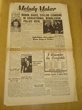 MELODY MAKER 1950 JULY 1 WIMBLEDON PALAIS EVE BOSWELL JACK NATHAN ALL STARS