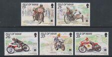 Isle of Man - 1991, TT Mountain Course set - MNH - SG 478/82