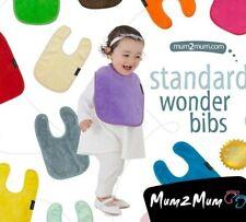 Mum 2 Mum Standard Wonder Bib x 3 or 5, Waterproof Bib, Feeding Bib Multipack