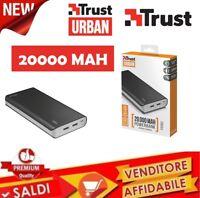 Powerbank Caricabatteria Esterna da 20000 Mah Portatile Universale TRUST 21795
