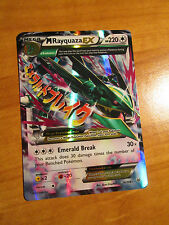 NM MEGA Pokemon M RAYQUAZA EX Card ROARING SKIES Set 76/108 XY X Y Ultra Rare