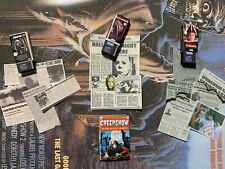 Custom 1/6 Horror VHS/Clippings/Comic Lot Jason Freddy Myers