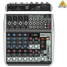Behringer Xenyx QX1202USB Premium Audio Interface Mixer l USA Authorized Dealer