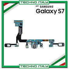 CONNETTORE RICARICA SAMSUNG Galaxy S7 SM-G930F G930F DOCK USB MICROFONO FLAT