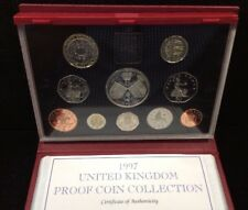 1997 UNITED KINGDOM DELUXE PROOF SET