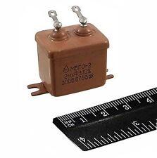4 Pcs 2uf 300v 10 Mbgo 2 Pio Audio Capacitors Ussr Nos