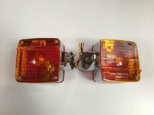 Fits Chevrolet/GMC C70 Med Duty Truck turn signals Lights Direccionales Pair