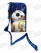 Star Wars BB-8 Lanyard Zipper Wallet & IPhone/ID Pouch Holder