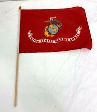 Us Marine Corps Hand Held Small Flag