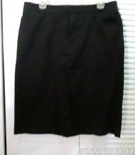 Dockers Straight Skirt in Black Size 12 Reg. NWOT
