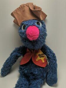 Vintage Knickerbocker  Plush Stuffed Marshall Grover Sesame Street