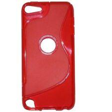 Carcasa Silicona Rojo para iPod Touch 5 Gel TPU a1125