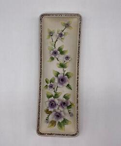 Vintage Lefton Wall Hanging Flowers Plaque 3D