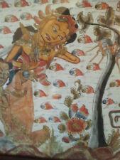 Batik D'Indonésie   - Couple - Démon - Encadré - Sous-Verre