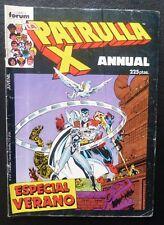 Comic Patrulla X ANNUAL,ESPECIAL VERANO,1987,Comics Forum
