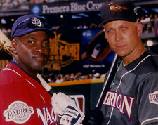 Cal Ripken and Tony Gwynn - 2001 All-Star Game Color 8x10 Photo