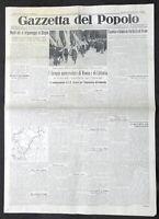 Giornale Gazzetta del Popolo N. 99 - Gruppi universitari di Roma e Littoria 1935