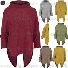 Polo Neck Acrylic Jumpers & Cardigans for Women