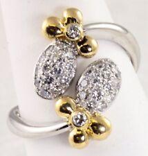 Lady Bug Diamond Platinum 18K Ring Size 5 1/2 WHOLESALE