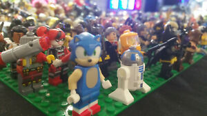 Minifigures 100 FIGURES clearance bundle DC Marvel Fortnite Starwars wholesale
