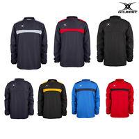 Gilbert Rugby Men's Photon Warm-Up Top GI016 - Sports Winterwear Training Jacket