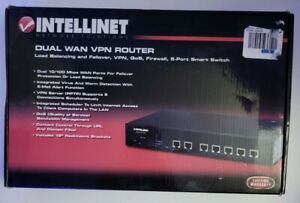 Intellinet Dual Wan Vpn Router, 5 Port Smart Switch - 524049.